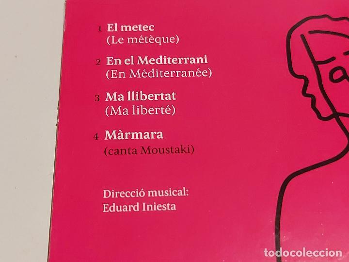 CDs de Música: MARINA ROSSELL CANTA MOUSTAKI / CD-PROMO-2011 / 4 TEMAS / IMPECABLE. - Foto 3 - 249362090