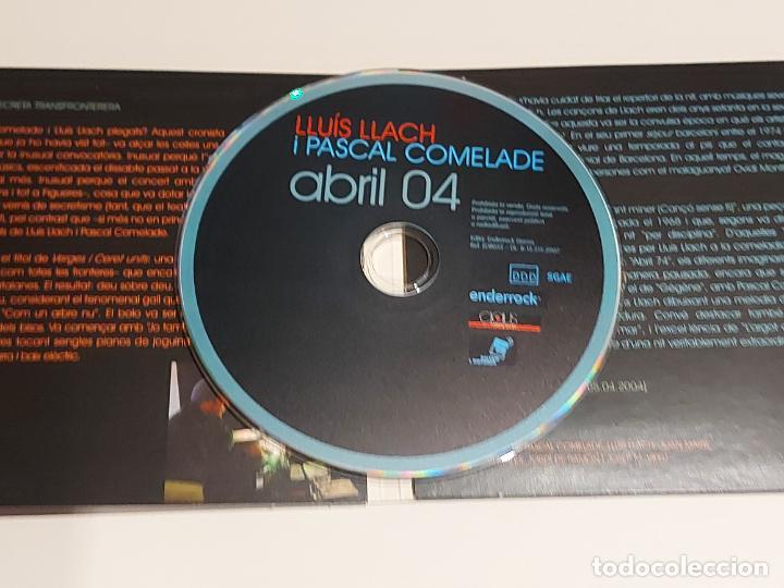 CDs de Música: LLUÍS LLACH I PASCAL COMELADE / ABRIL 04 / EN DIRECTE AL TEATRE JARDÍ DE FIGUERES / IMPECABLE. - Foto 2 - 249362865