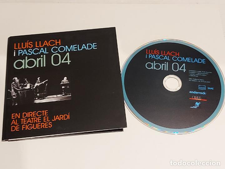 LLUÍS LLACH I PASCAL COMELADE / ABRIL 04 / EN DIRECTE AL TEATRE JARDÍ DE FIGUERES / IMPECABLE. (Música - CD's World Music)