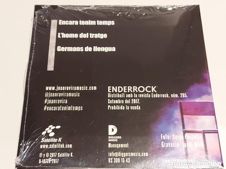 CDs de Música: JOAN ROVIRA EN ACÚSTIC / PROMO CD - EDR-2017 / 3 TEMAS / PRECINTADO. - Foto 2 - 249364500