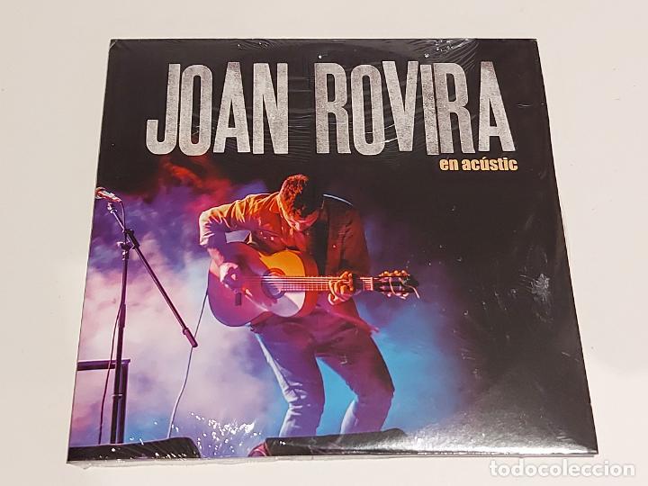 JOAN ROVIRA EN ACÚSTIC / PROMO CD - EDR-2017 / 3 TEMAS / PRECINTADO. (Música - CD's World Music)