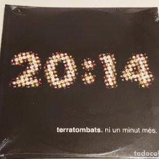 CDs de Música: TERRATOMBATS / 20:14 / NI UN MINUT MÉS / CD - EDR-2013 / 10 TEMAS / PRECINTADO.. Lote 249368660