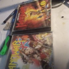 CDs de Música: 2 CD GRUPO MANOWAR - HAIL TO ENGLAND Y KINGS OF METAL. Lote 249411285