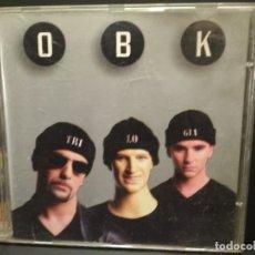 CDs de Música: OBK - TRILOGÍA - CD ALBUM - 10 TRACKS - HISPAVOX 1995 PEPETO. Lote 249486730