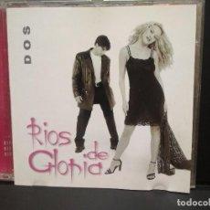 CDs de Música: RIOS DE GLORIA -DOS CD 1999 PRIMERA EDICION HORUS - TECHNO-RUMBA PEPETO. Lote 249487650
