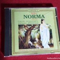 CDs de Música: BELLINI - NORMA SELEZIONE - GINA CIGNA / EBE STIGNANI / TANCREDI PASERO / GIOVANNI BREVIARIO - CD. Lote 249582470