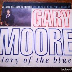 CDs de Música: CD DE GARY MOORE - STORY OF THE BLUES - EN BUENAS CONDICIONES EDICION ESPECIAL | VIRGIN RECORDS |. Lote 250142870