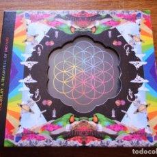 CDs de Música: CD DE COLDPLAY - A HEAD FULL OF DREAMS - COMO NUEVO | PARLOPHONE RECORDS |. Lote 250144820