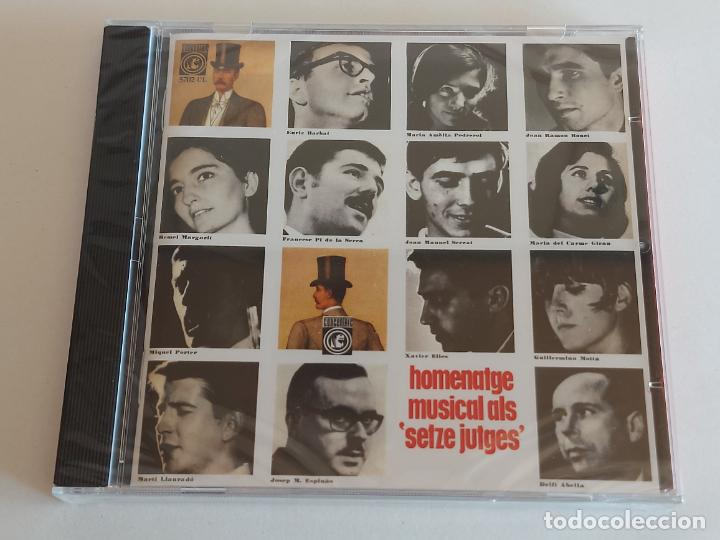 HOMENATGE MUSICAL ALS 'SETZE JUTGES' / CD - EDR-2010 / 40 TEMAS / PRECINTADO / DIFÍCIL (Música - CD's World Music)