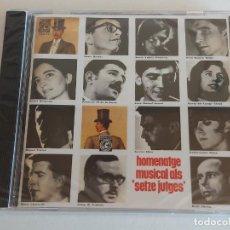 CDs de Música: HOMENATGE MUSICAL ALS 'SETZE JUTGES' / CD - EDR-2010 / 40 TEMAS / PRECINTADO / DIFÍCIL. Lote 250154895