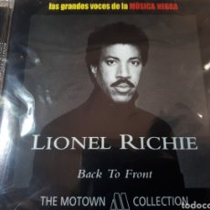 CDs de Música: LIONEL RICHIE BACK TO FRONT PRECINTADO. Lote 250178740