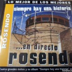 CDs de Música: ROSENDO EN DIRECTO. Lote 250182660