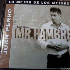 CDs de Música: JUAN PERRO MR. HAMBRE. Lote 250207925