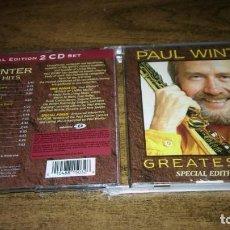 CD de Música: PAUL WINTER - GREATEST HITS (SPECIAL EDITION 2 CD SET. ENHANCED CD). Lote 250227422