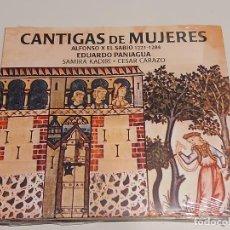 CDs de Música: CANTIGAS DE MUJERES / ALFONSO X EL SABIO / EDUARDO PANIAGUA / DIGIPACK-CD / 8 TEMAS / PRECINTADO.. Lote 250232095