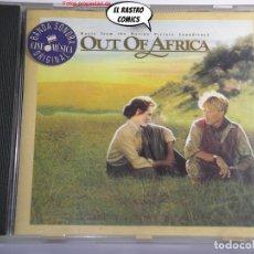 CD de Música: OUT OF AFRICA, CD MCA, BSO, B S O, MEMORIAS DE ÁFRICA. Lote 250246450