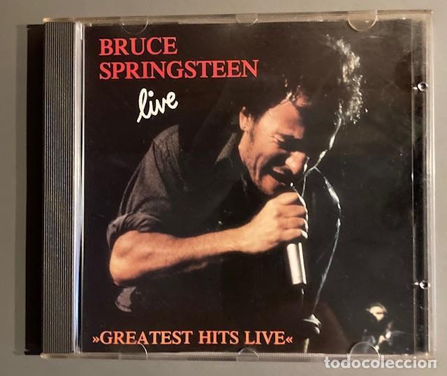 BRUCE SPRINGSTEEN - LIVE - GREATEST HITS - STENTOR, 1992 (Música - CD's Rock)