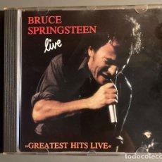 CDs de Música: BRUCE SPRINGSTEEN - LIVE - GREATEST HITS - STENTOR, 1992. Lote 250255460
