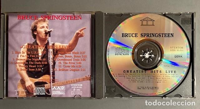 CDs de Música: BRUCE SPRINGSTEEN - LIVE - GREATEST HITS - STENTOR, 1992 - Foto 2 - 250255460