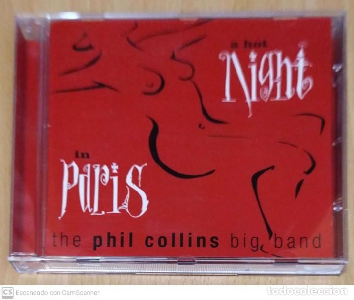 THE PHIL COLLINS BIG BAND (A HOT NIGHT IN PARIS) CD 1999 (Música - CD's Pop)