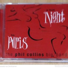 CDs de Música: THE PHIL COLLINS BIG BAND (A HOT NIGHT IN PARIS) CD 1999. Lote 250264890