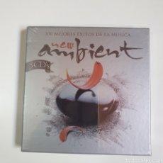 CDs de Música: CAJA PACK DE 5 CD'S, 100 MEJORES ÉXITOS DE LA MÚSICA NEW AMBIENT, NUEVO PRECINTADO ORIGINAL.. Lote 250287815