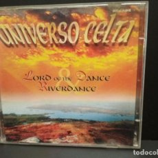 CDs de Música: UNIVERSO CELTA LORD OF THE DANCE RIVERDANCE DOBLE CD ARCADE 1999 PEPETO. Lote 250311035