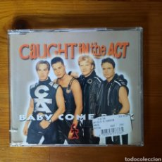 CDs de Música: CAUGHT IN THE ACT, BABY COME BACK. Lote 250340105