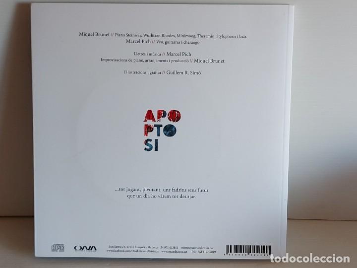 CDs de Música: MIQUEL BRUNET-MARCEL PICH-GUILLEM R. SIMÓ / APAPTOSI / LIBRO-CD - ONA-2019 / IMPECABLE. - Foto 6 - 251046420