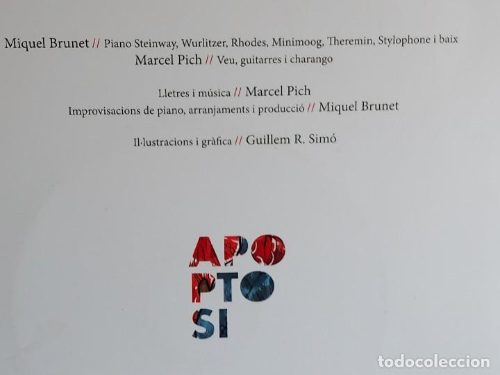 CDs de Música: MIQUEL BRUNET-MARCEL PICH-GUILLEM R. SIMÓ / APAPTOSI / LIBRO-CD - ONA-2019 / IMPECABLE. - Foto 7 - 251046420