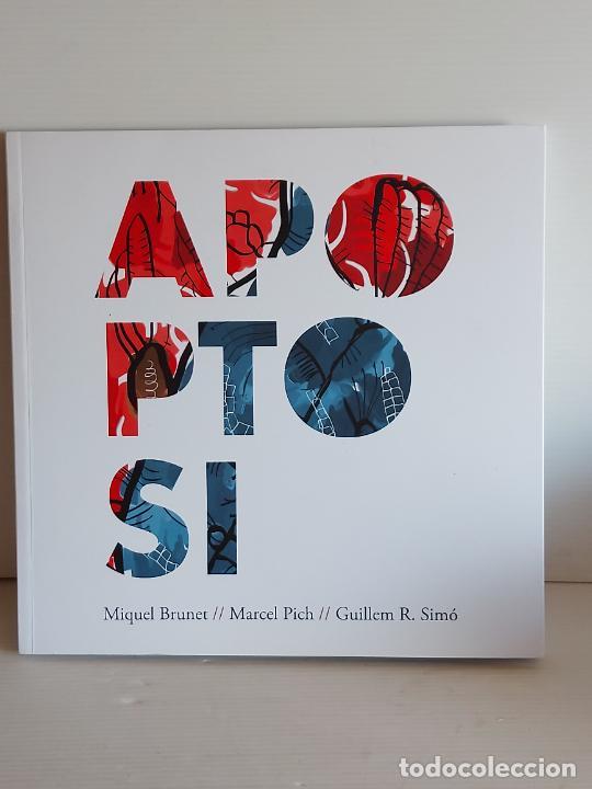 MIQUEL BRUNET-MARCEL PICH-GUILLEM R. SIMÓ / APAPTOSI / LIBRO-CD - ONA-2019 / IMPECABLE. (Música - CD's World Music)