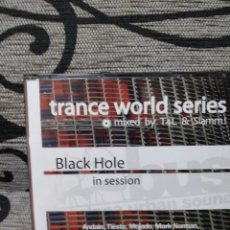CDs de Música: TRANCE WORLD SERIES: BLACK HOLE IN SESSION. Lote 251047625