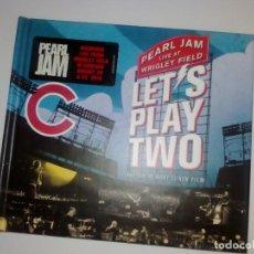 CDs de Música: PLEARL JAM LET'S PLAY TWO CD. Lote 251100160