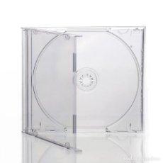 CDs de Música: 10 CAJAS CD/DVD TRANSPARENTES SIMPLES JEWEL (NUEVAS) TU COLECCIÓN PERFECTAMENTE ORDENADA Y PROTEGIDA. Lote 277680898