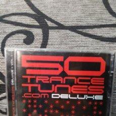CDs de Música: 50 TRANCE TUNES DELUXE VOLUME 1. Lote 251234245