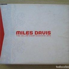 CD de Música: MILES DAVIS : THE CELLAR DOOR SESSIONS 1970 (BOX 6 CD + LIBRO INTERIOR) - ORIGINAL EU 2005 COLUMBIA. Lote 251234695