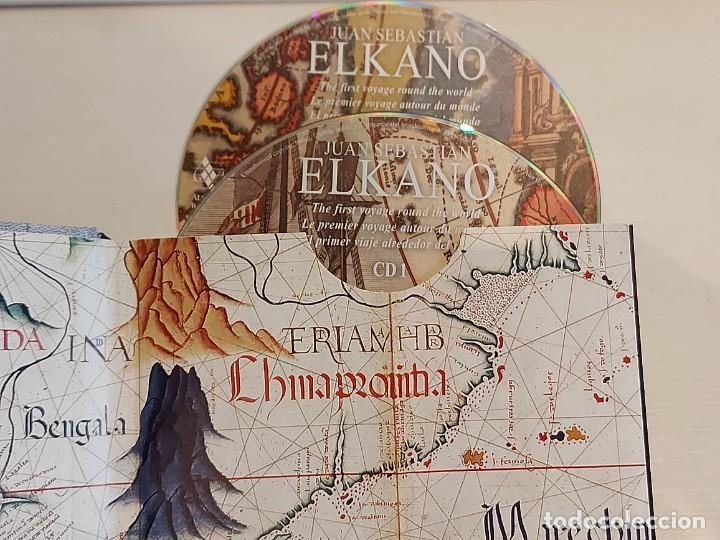 CDs de Música: JUAN SEBASTIAN ELKANO / CANCIONES Y DANZAS DE LA NAVEGACIÓN VASCA / LIBRO + DOBLE CD / DE LUJO. - Foto 2 - 251241820