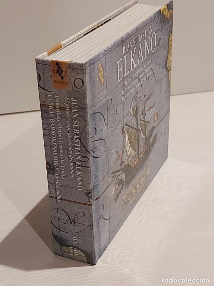 CDs de Música: JUAN SEBASTIAN ELKANO / CANCIONES Y DANZAS DE LA NAVEGACIÓN VASCA / LIBRO + DOBLE CD / DE LUJO. - Foto 5 - 251241820