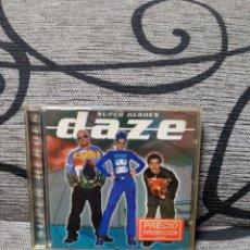 CD de Música: DAZE - SUPER HÉROES. Lote 251264235