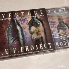 CDs de Música: XAVIER DOTRAS-LLUÍS ESCUADRA-DANI FORCADA / OVERTURE / CAJA-CD - PICAP-2018 / 10 TEMAS / PRECINTADO.. Lote 268913544