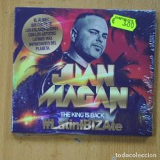 CDs de Musique: JUAN MAGAN - THE KING IS BACK - LATINIBIZATE - CD. Lote 251314110