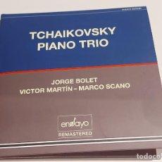 CDs de Música: TCHAIKOVSKY PIANO TRIO / JORGE BOLET-VICTOR MARTÍN-MARCO SCANO / DIGIPACK-CD / DE LUJO.. Lote 251316390