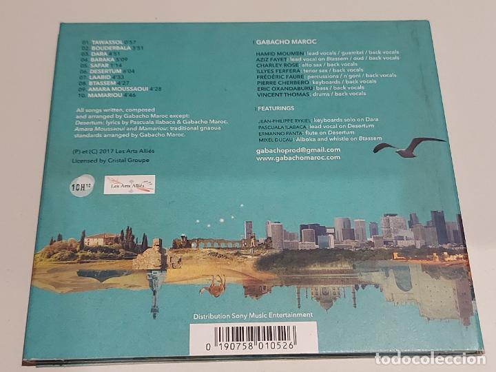 CDs de Música: GABACHO MAROC / TAWASSOL / DIGIPACK-CD - LES ARTS ALLIÉS-2017 / 10 TEMAS / IMPECABLE. - Foto 3 - 251329325