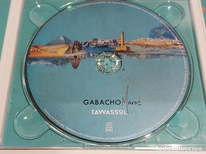 CDs de Música: GABACHO MAROC / TAWASSOL / DIGIPACK-CD - LES ARTS ALLIÉS-2017 / 10 TEMAS / IMPECABLE. - Foto 2 - 251329325