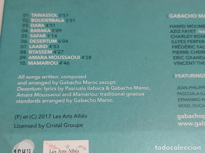 CDs de Música: GABACHO MAROC / TAWASSOL / DIGIPACK-CD - LES ARTS ALLIÉS-2017 / 10 TEMAS / IMPECABLE. - Foto 4 - 251329325