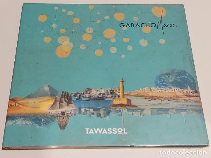 GABACHO MAROC / TAWASSOL / DIGIPACK-CD - LES ARTS ALLIÉS-2017 / 10 TEMAS / IMPECABLE. (Música - CD's World Music)