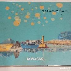 CDs de Música: GABACHO MAROC / TAWASSOL / DIGIPACK-CD - LES ARTS ALLIÉS-2017 / 10 TEMAS / IMPECABLE.. Lote 251329325