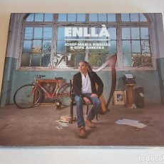 CDs de Música: JOSEP MARIA RIBELLES & KEPA JUNKERA / ENLLÀ / DIGIPACK-CD - SATELITE K-2017 / IMPECABLE.. Lote 251378255