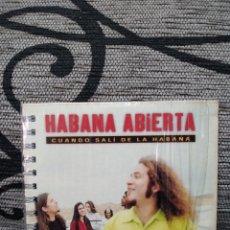 CDs de Música: HABANA ABIERTA - CUANDO SALÍ DE LA HABANA. Lote 251405325