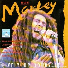 CDs de Música: BOB MARLEY - LIVELY UP YOURSELF - 16 TRACKS - ED. ZILLION RECORDS - AÑO 1991.. Lote 251408425